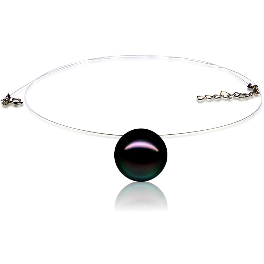 Collier Lucy™ Perle Black