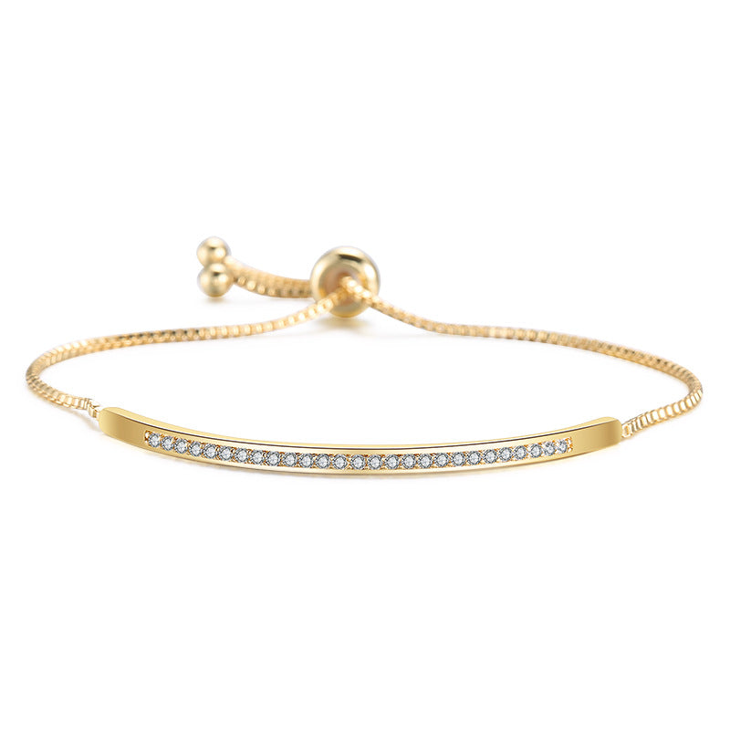 Bracelet Brillant Ajustable