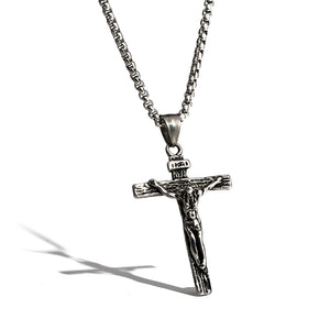 Titanium steel jesus cross necklace lord jesus gifts titanium steel jesus cross necklace aloadofball