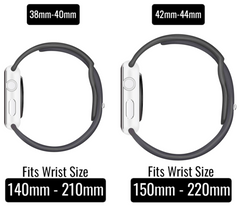 Size Guide Apple Watch Bands by Lucid Cases