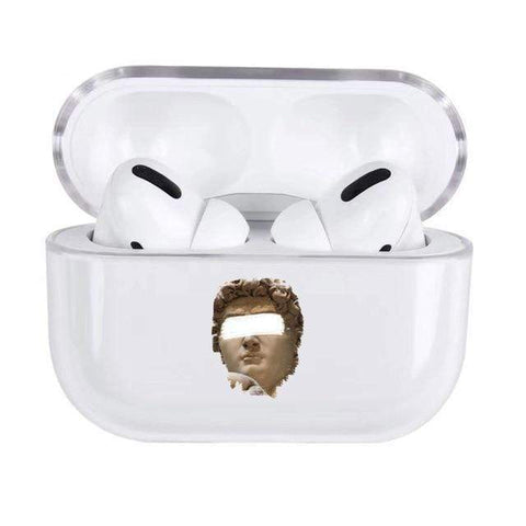 Lucid Cases Censored Statue - Soft AirPods Pro Case