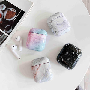 Lucid Cases AirPodsCase Cute Marble AirPods Case