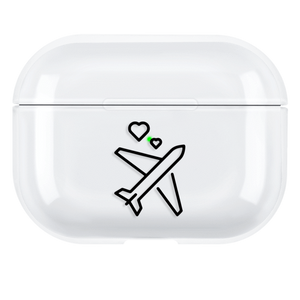 Lucid Cases - Cute Plane - Hard AirPods Pro Case