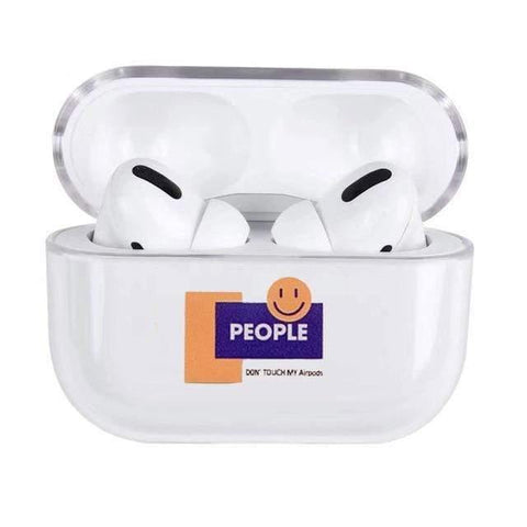 Lucid Cases AirPodsCase Don't Touch My - AirPods Pro Case