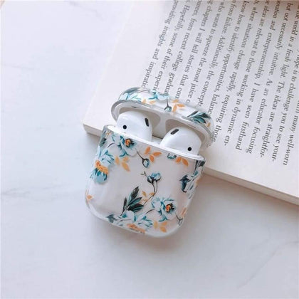 Lucid Cases AirPodsCase Floral Hard Airpods Case