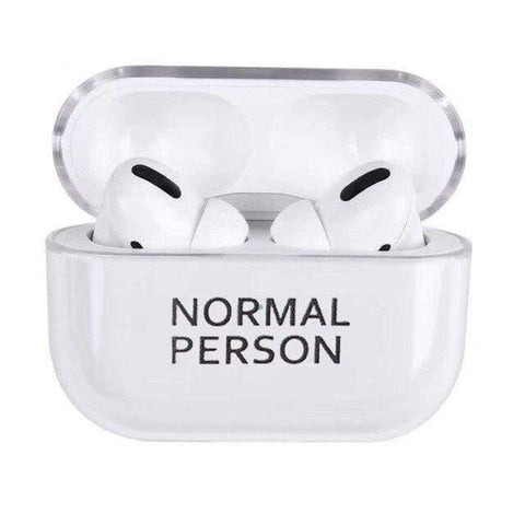 Lucid Cases AirPodsCase Normal Person AirPods Pro Case