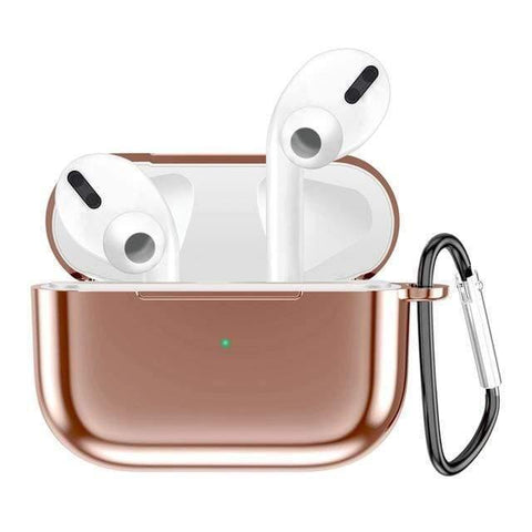 Lucid Cases AirPodsCase Rose Gold Glossy Metalic - AirPods Pro Case