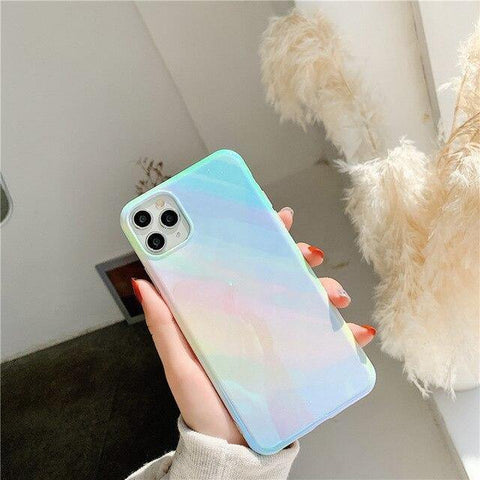 Lucid Cases For iphone 8plus / MULTI Glossy Gradient - Soft iPhone Case