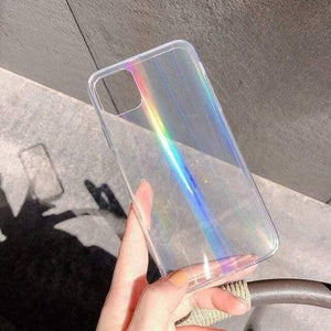 Lucid Cases - Holographic Laser - Soft iPhone Case