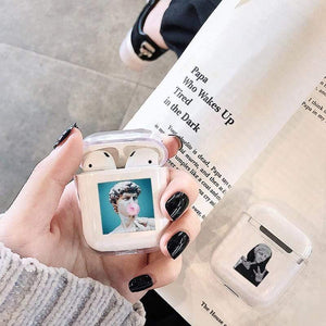 Lucid Cases - Funny Art AirPod Soft Protective Case