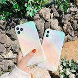 Lucid Cases Glossy Gradient - Soft iPhone Case