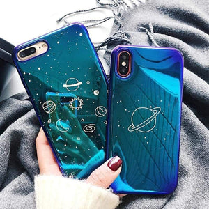 Lucid Cases iPhone Case Cute Glossy Space iPhone Cases
