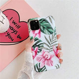Lucid Cases - Matte Floral - Soft iPhone Case