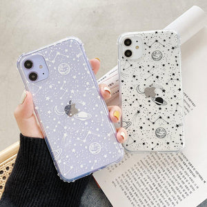 Outer Space - Soft iPhone Case