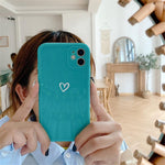 Lucid Cases - Glossy Heart - Soft iPhone Case