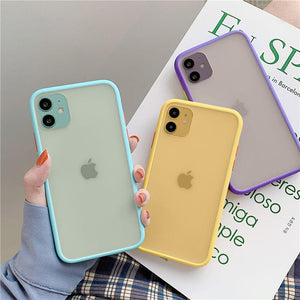 Lucid Cases - Matte Bumper - Hard iPhone Case