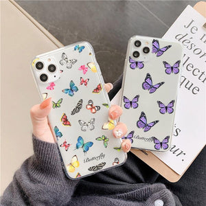 Lucid Cases - Butterfly Painting - Soft iPhone Case
