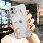 Lucid Cases - Luxury Gold Space - Soft iPhone Case