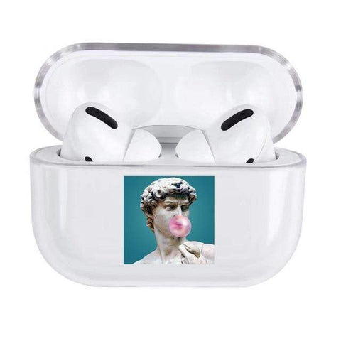 Lucid Cases Statue with Bubblegum AirPods Pro Case