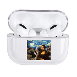 Lucid Cases The Scream & Mona Lisa AirPods Pro Case