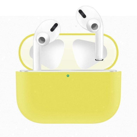 Lucid Cases Yellow Silicone Case AirPods Pro