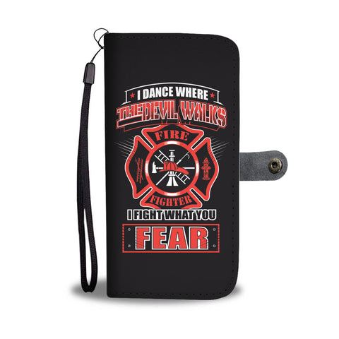 Fire Fighter No Fear Phone Case