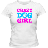 Girls love dogs Tee  Dog Girl T shirt  Crazy Dog Girl T shirt  Crazy Dog Girl Top  Crazy Dog Girl T ee