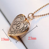 Ligero Pet Picture Locket Necklace