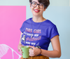 """This Girl Loves Her Pitbull and Her Coffee"" Ladies Classic Tee"