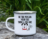 Pet Mug  Dog Mug  Dog Lovers Mug  Camping Dog Mug