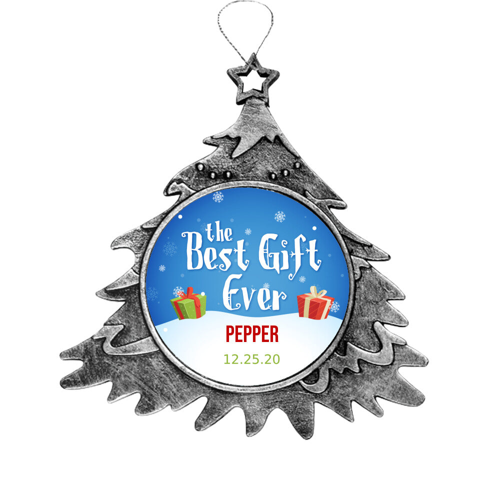Personalize Pet Xmas Ornament, Dog Christmas ornament, Pet Christmas Ornament, Personalize Pet-Dog Ornament,