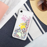 Dog Paws Liquid Glitter iPhone Case For 7/8 -SE-X/XS-XR