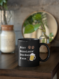 dog dad mug with picture, dog dad gifts, dog dad mugs   dog dad mug, Dog dad Beer lovin mug,fathers day gift, gifts for dad, fathers day ideas, father's day gift ideas,dad beer lovin mug