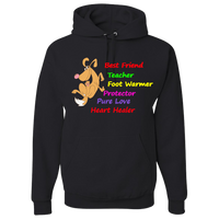 "FREE! Shipping!""Mans Best Friend"" Adult Size Hoodie🎁🐾"