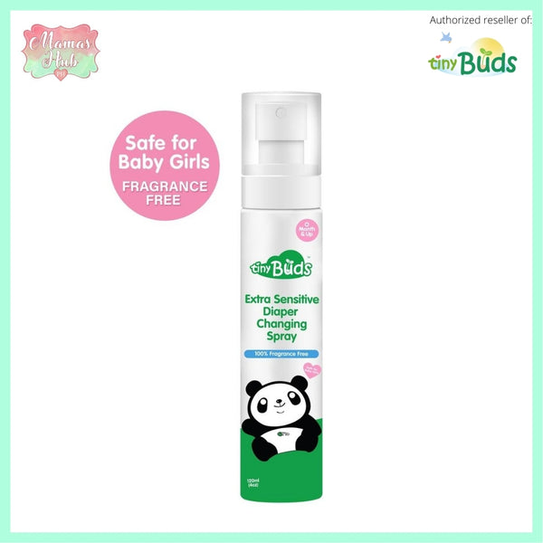 Tiny Buds Extra Sensitive Natural Diaper Changing Spray