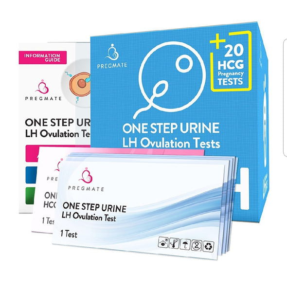 Pregmate Ovulation and Pregnancy Test Strips Combo (50 Ovulation and 20 Pregnancy Kits)