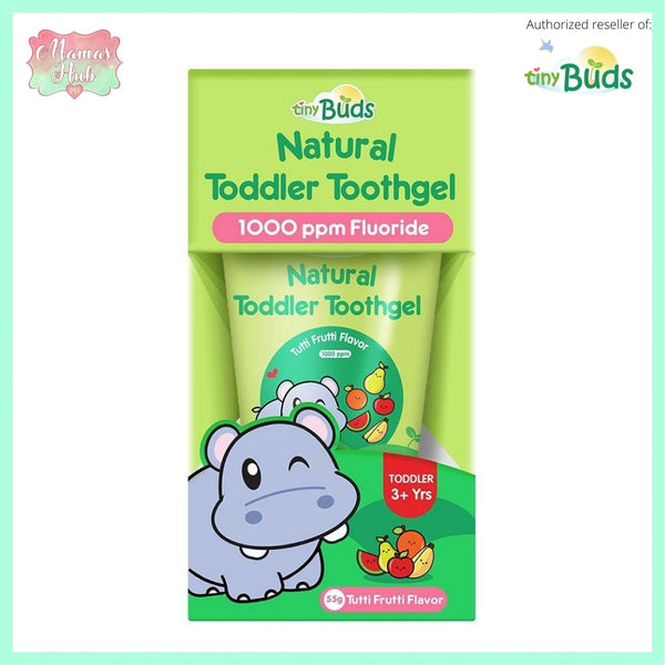 Tiny Buds Toddler Toothgel Stage 2 - Tutti Fruitti