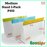 Ecozips Medium Stand (Pack of 3)