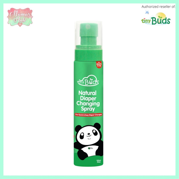 Tiny Buds Quick and Easy Natural Diaper Changing Spray