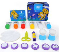 Joan Miro Finger Paint Kit