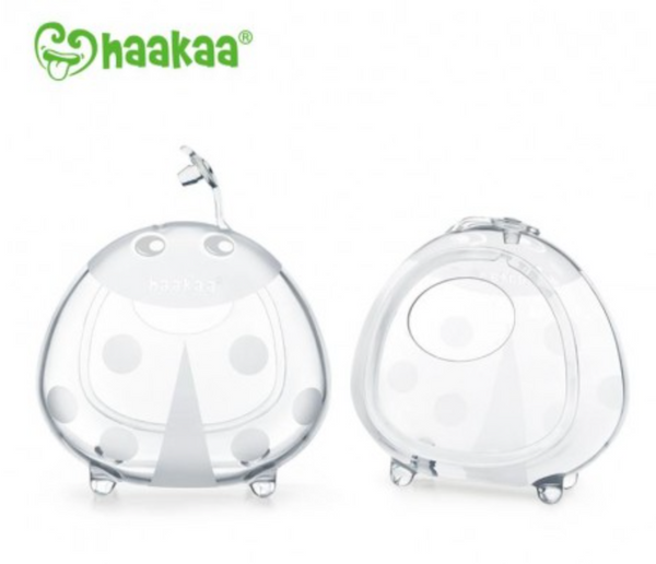 Haakaa Ladybug Silicone Breast Milk Collector (Sizes: 75ml and 150ml)