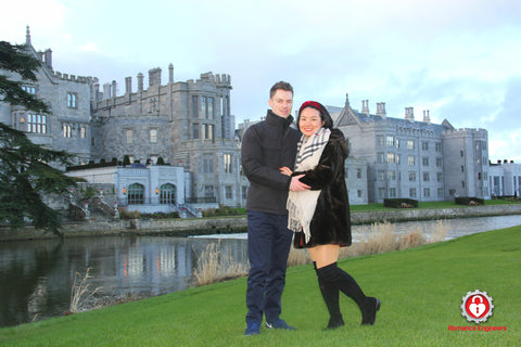 Adare Manor Proposal by the Romance Engineers Irelands premium proposal planning service where to propose in Dublin Ireland Limerick How to propose in Ireland getting engaged in Ireland picnic proposal in Fairy Forest. Proposal Planning Proposal planner proposal ideas