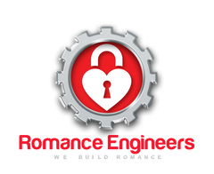 Rmance Engineers Logo - Romance Superhero by the Romance Engineers Ireland Premium Proposal planning service. Best proposal planners in Ireland.