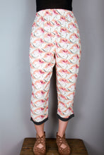 Crop Pants - Retro Floral