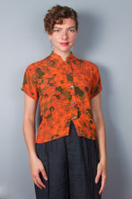 """Lucy"" Top - Orange Floral"