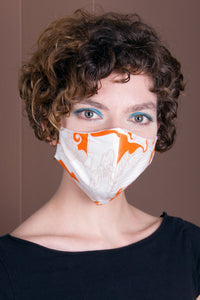 Face Mask- Cotton/ Lycra