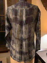 Silk/ Cotton Tunic Hand Dyed
