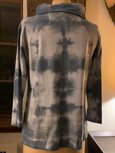 Cowl Neck Hand Dyed Tunic