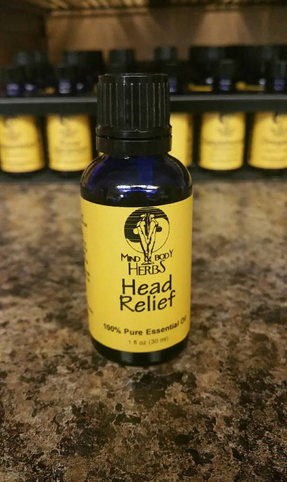 Head Relief Essential Oil