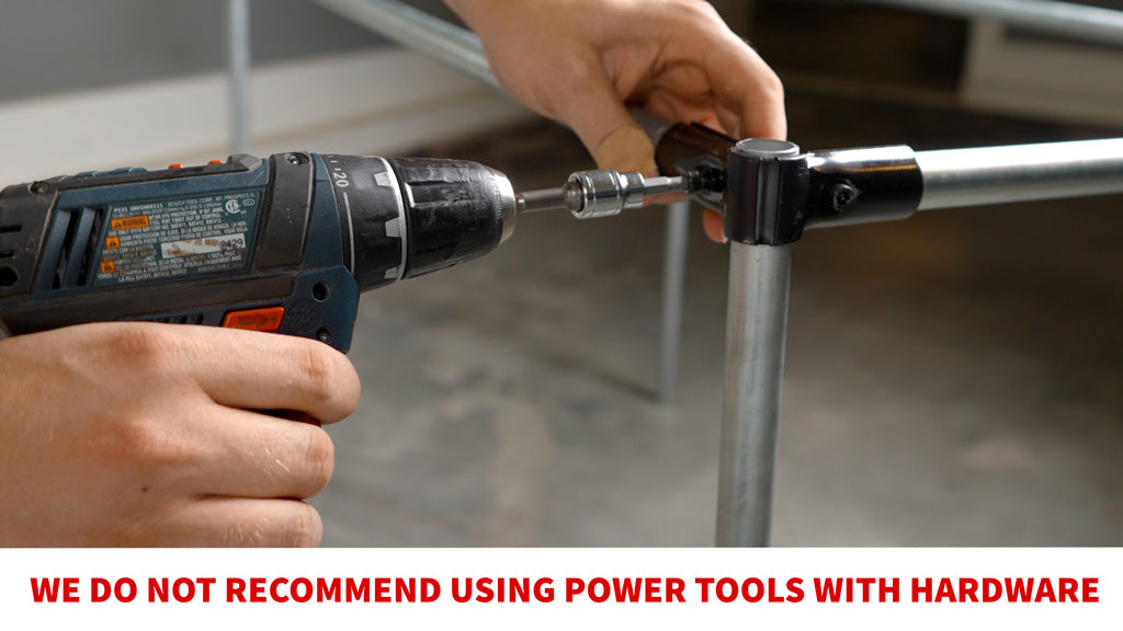 Do Not Use Power Tools